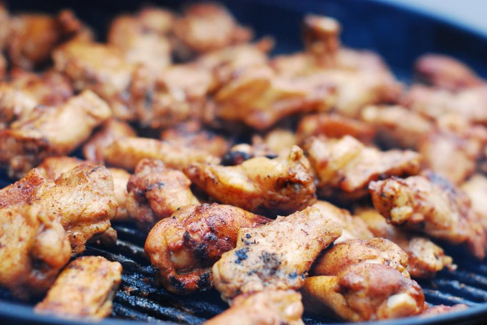 marinated wings